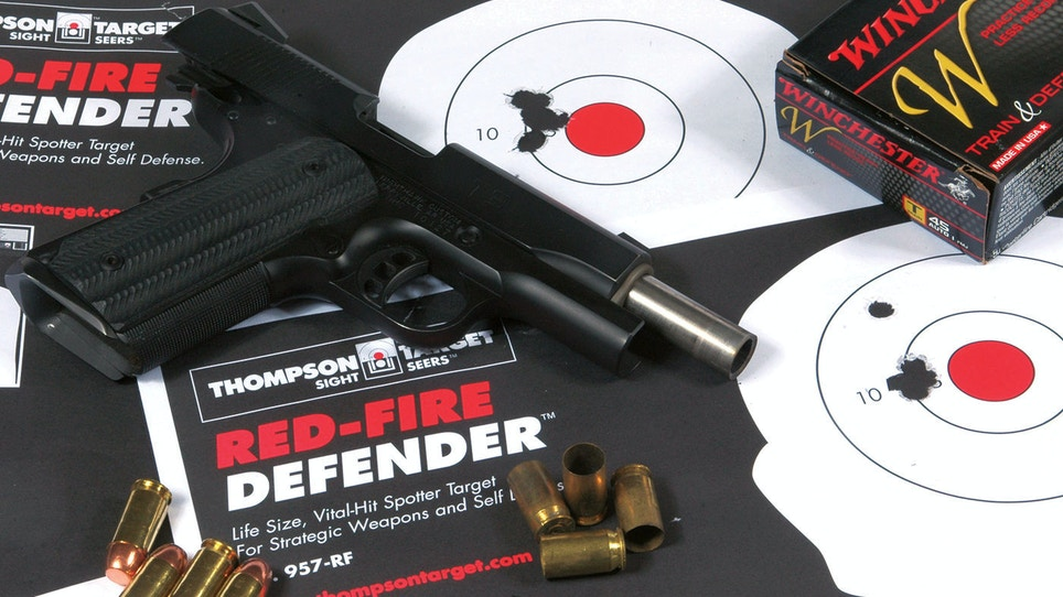 Holes in the Paper Are Not Enough: Pairing Training and Carry Ammo