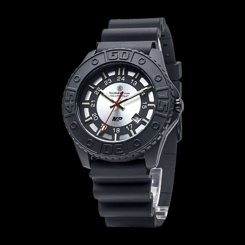 CampCo Smith & Wesson M&P Gray Tritium H3 Watch