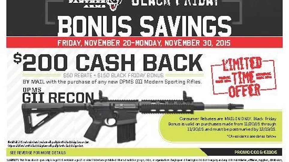Here's Your List Of The Latest Tactical Black Friday Deals