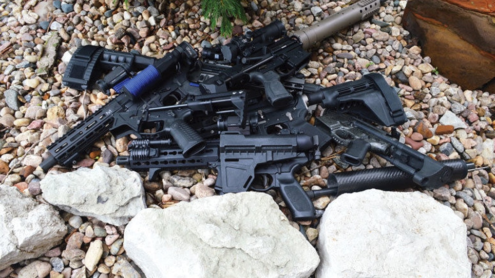 Short-Barreled AR-15 Pistols Gaining Popularity Among PDWs