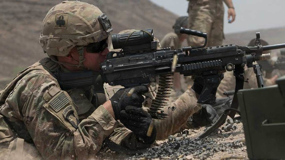 What options are there for U.S. military firearms?