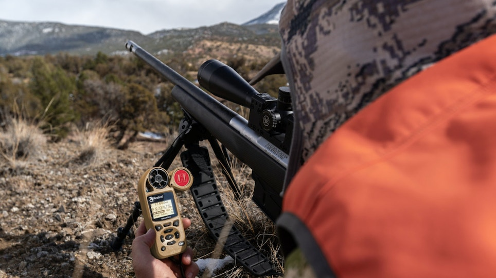 New Gear: Kestrel 5700 Ballistics Weather Meter with Hornady 4DOF