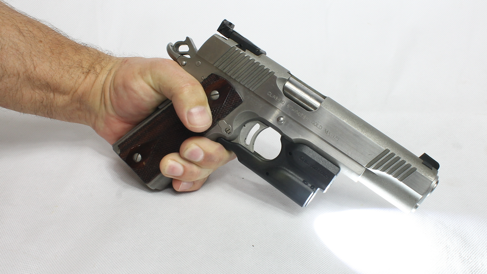 How to Add a Light or Laser to a 1911
