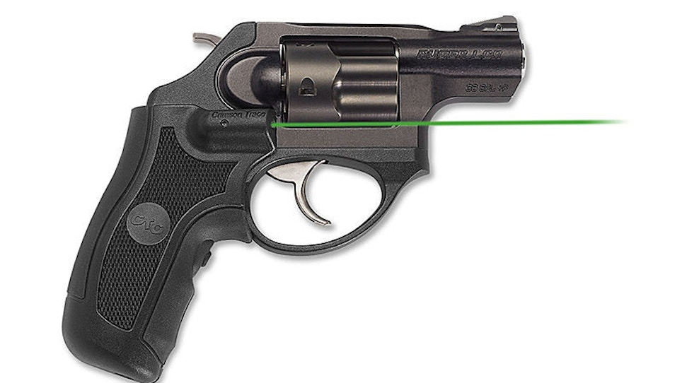 It's Green, It's On A Wheelgun, It's Crimson Trace