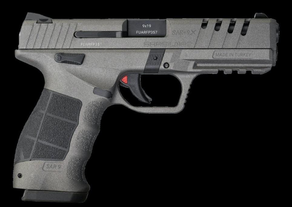 SAR USA | SAR9 X Platinum 9mm Pistol