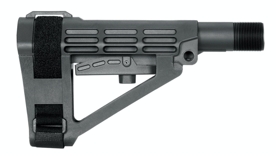 SBA4 Adjustable Pistol Stabilizing Brace Now Available