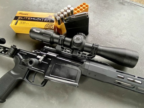 Sig Sauer Cross is a bolt-action rifle in multiple calibers with numerous features. (Photo: Alan Clemons)