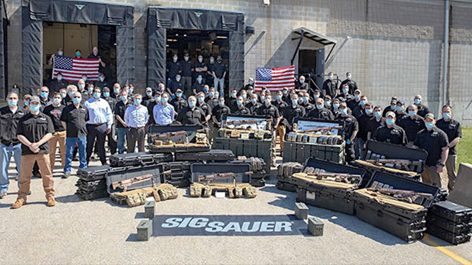 Tactical Shooting Sports News: Sig Sauer Delivers Next Generation Squad Weapons; Hellcat Now in Desert FDE
