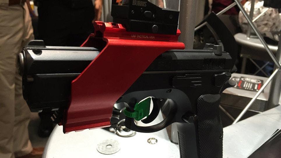 Handgun Sight Mount from UM Tactical