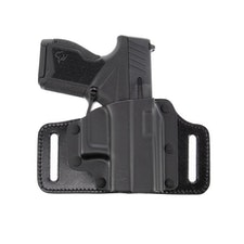 Several companies are making holsters for the GX4 already, including Galco, as shown here.