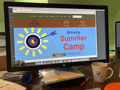 Use the pages on your website to educate visitors and provide meaningful, helpful content they'll actually want to read. Archery Headquarters, an archery and bowhunting retail store in Chandler, Arizona, takes it a step further. Not only does the shop offer useful information, they also have a full menu of programs like archery summer camps to draw new customers into their store. Photo: Amy Hatfield
