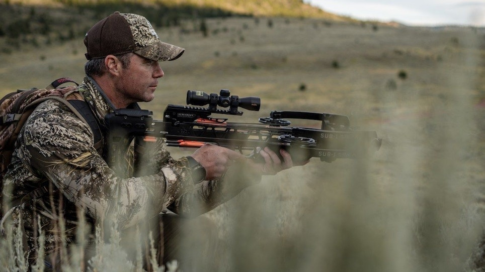 Mission Archery's silent, compact SUB-1 crossbow with tactical-like feel and accuracy