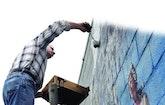 Operator/Artist Completes Digester Tank Mural