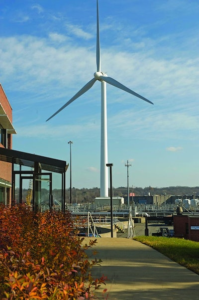 Wind Turbines From Goldwind USA Help The Field's Point Treatment Plant Save $1 Million A Year