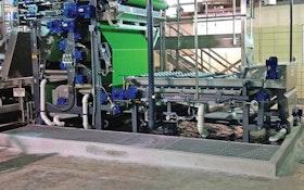 1,000-year flooding tests 3DP Model belt press
