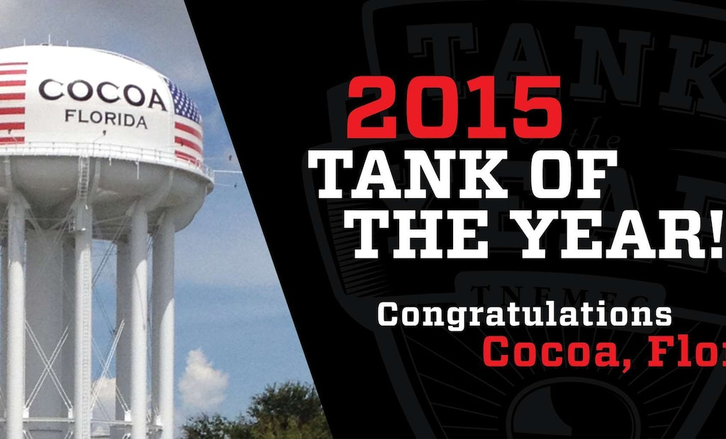 Congrats to the Tnemec 2015 Tank of the Year