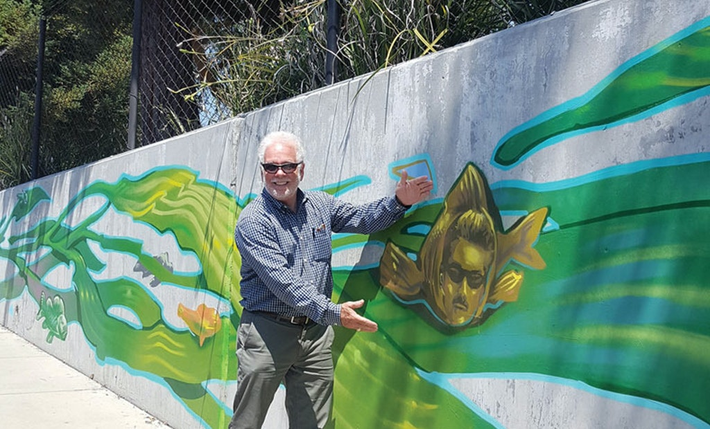 A Work of Public Art Pays Homage to a Former Treatment Plant Leader Who Had a Vision