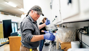 Andrew Wendell's Meticulous Nature Helped Him Win a 2020 Laboratory Analyst Excellence Award