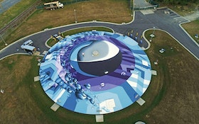 Some Treatment Plant Murals Are Flat. Here's One That Is Round.