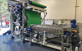Water Treatment Facility Reduces Dewatering Costs With 3DP Belt Press