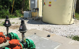 Alkagen AQ Solution Provides Point Source Odor And Corrosion Control