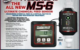 Accurate and Affordable Chemical Feed Sensor