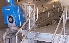Simplicity of Dewatering Technology Liberates Treatment Plant Personnel