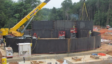 Reduce Lifetime Costs with Steel Tanks for Wastewater Treatment