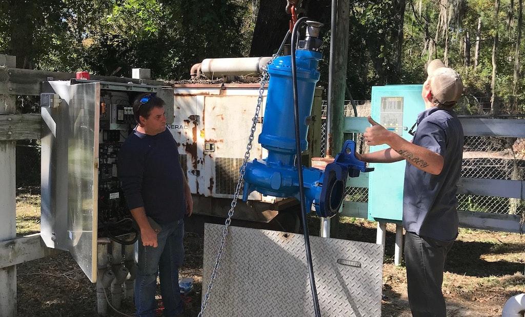SITHE Chopper Pump Ends Pump Clogging Issues at Shoe Factory Pump Station