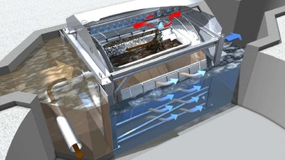 Compact Solution to Replace Primary Clarifiers in Small Plants