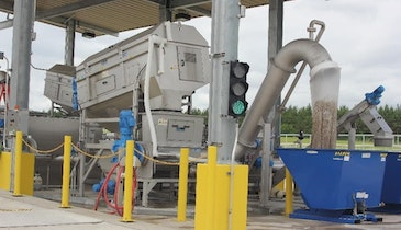 Receiving Station Manages Haulers' Unpredictable Septage