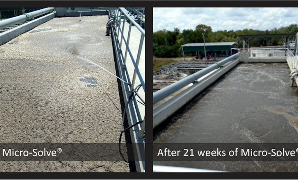 Bioremediation with Micro-Solve Solves Foaming Issue at a Texas WRRF