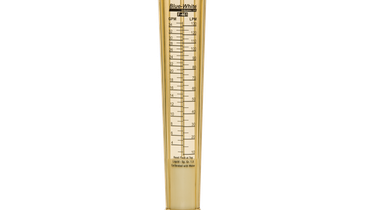 Variable Area Flowmeter Has No Metals in the Fluid Path