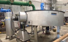 Sludge Thickener Delivers Savings and Improvements