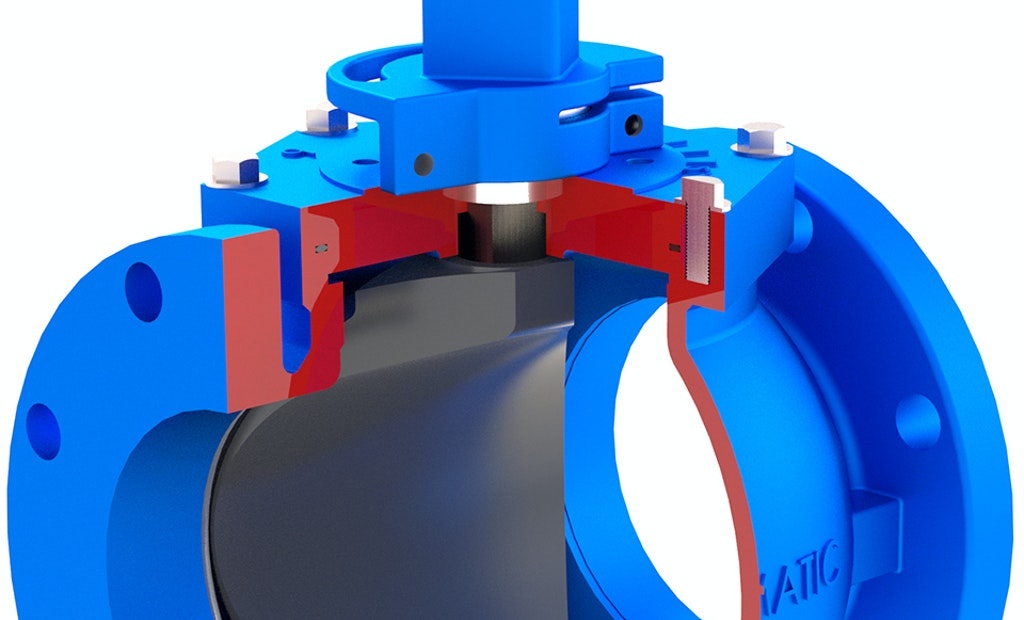 Flomatic Valves Model 5400 Flo-E-Centric Plug Valve