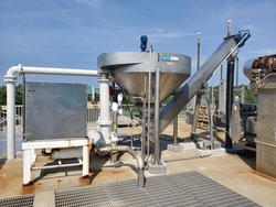 Combined Grit Washing and Dewatering System Provides Clean, Dry Grit, Reducing Odor and Disposal Costs