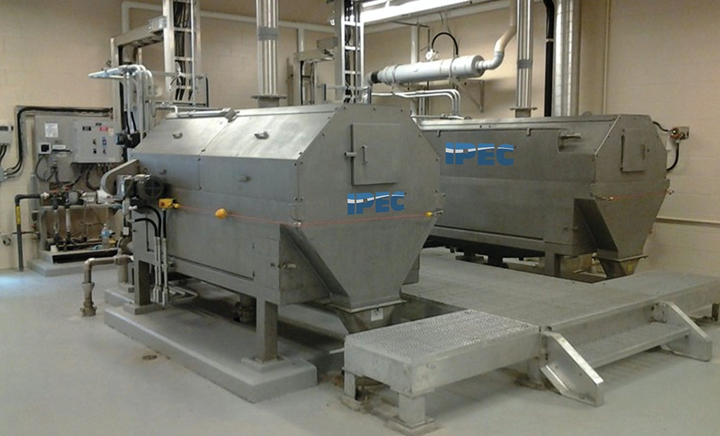 Perforated Fine Rotary Drum Screens For Pumped Flows
