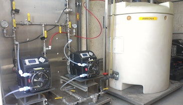 Peristaltic Pumps Excel in Chloramine Application