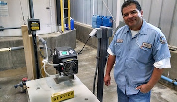 Peristaltic Pump Reduces Operating Costs in the City of Lompoc