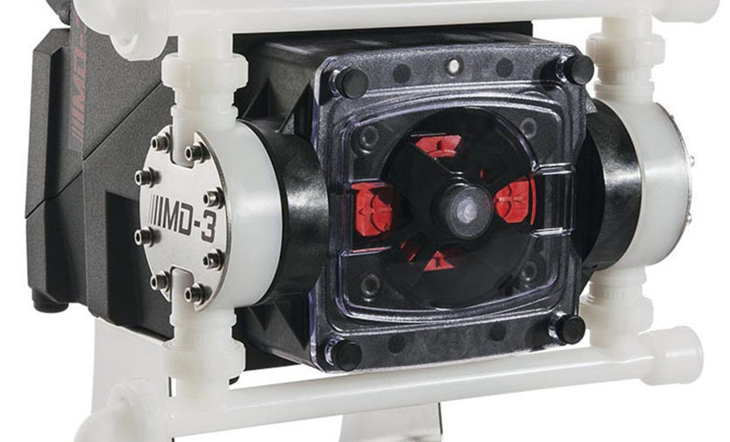 MD3 Multi-Diaphragm Pump Delivers Smooth, Precise Chemical Dosing