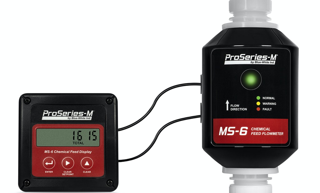 Blue-White's President Explains the Accuracy of the MS-6 Chemical Feed Sensor