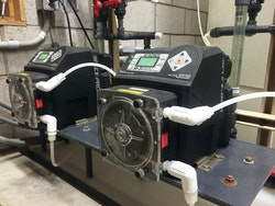 Peristaltic Metering Assists with Arsenic Removal in Wells