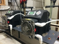 Peristaltic Pumps Provide Precise Chemical Feed