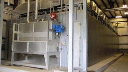 Mooresville Reduces Sludge Handling Costs with BT Belt Dryer