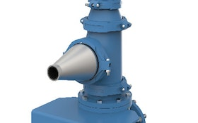 Nozzle mix system increases efficiency with dual-zone mixing