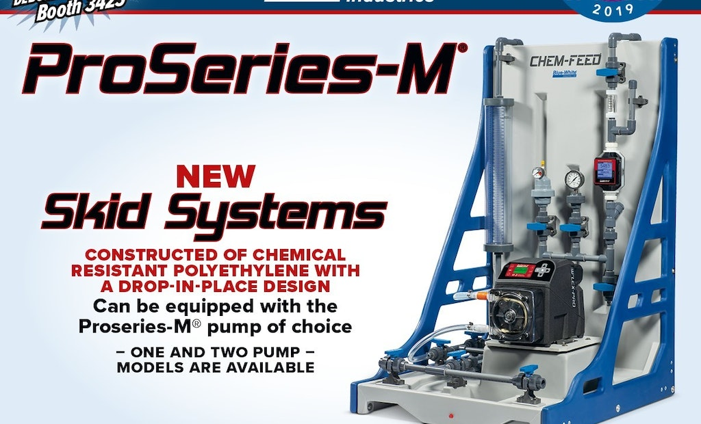 CHEM-FEED Drop-In-Place Skid System