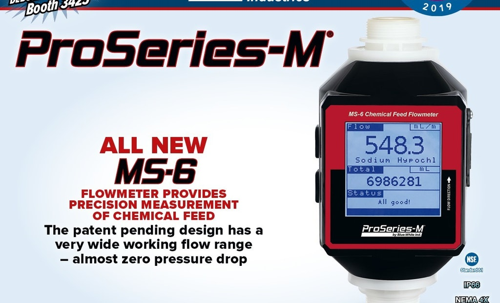 MS-6 Flowmeter for Accurate Output Measurement
