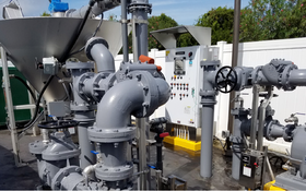 Grit Washer Helps Tarpon Springs Perfect Its Cleaning and Separation Process