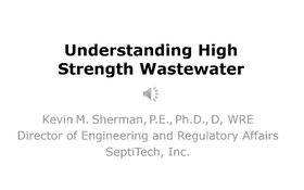 Understanding High Strength Wastewater