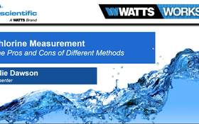Webinar: Chlorine Measurement: The Pros and Cons of Different Methods